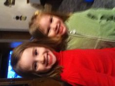 Colleen and Adeline aren't they cute