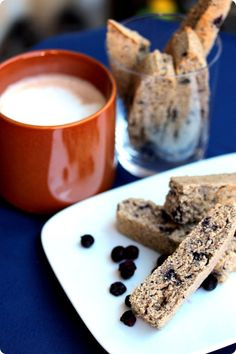 Wild Blueberry Biscotti Recipe