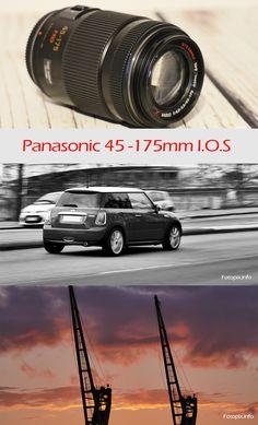 Objectif Panasonic Lumix  45-175mm G X VARIO PZ POWER I.O.S. Il ne pèse que 201g et il est compact. Pour boitier en micro 4/3 Panasonic GX8 GH5 GH4