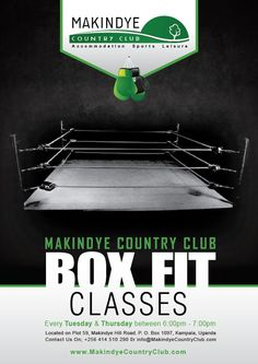 Box Fit Classes at Makindye Country Club
