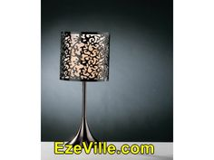 Gorgeous Nightstand Lamps For Bedrooms Brown And Blue Contemporary Lamp Shades, Contemporary Bedroom, Nightstand Lamp, Desk Lamp, Table Lamps For Bedroom, Arc Floor Lamps, Buffet Lamps, Bedroom Night Stands, Home Lighting