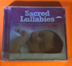 """""""Sacred Lullabies"""" Treasured Hymns CD Lifescapes (2012) Brand New Factory Sealed"""