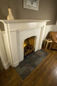 19 Best Tile Hearth Ideas Images Fire Places Fireplace Design