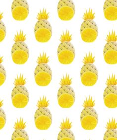 naomi elliot // pineapple pattern