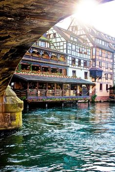 Strasbourg, France. On a flight to Germany I met a German woman who told me this is absolutely the place to visit and there are many beautiful secret places there.