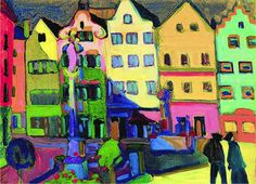 Wassily Kandinsky, Murnau, 1907