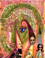 Teesha Moore Visual Journal Page http://www.teeshaslandofodd.com/myjournal/pages1.html