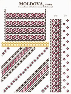 Cross Stitch Borders, Simple Cross Stitch, Cross Stitch Designs, Cross Stitching, Cross Stitch Patterns, Folk Embroidery, Cross Stitch Embroidery, Embroidery Patterns, Knitting Patterns