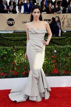 Sarah Silverman Mermaid Gown