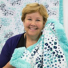 New Friday Tutorial: The Self Binding Baby Blanket with Shannon Cuddle