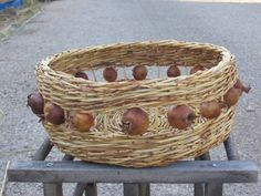 Yonit Cristal - basket with dried pomegranates
