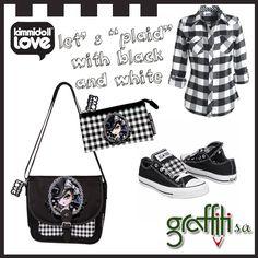 Τσαντάκι με καπάκι και πορτοφόλι Bella Donna, Kimmidoll Love από τη Graffiti! #belladonna #kimidoll #love #graffit #graffitisa www.graffiti.gr