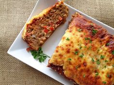 Italian-Style Meatloaf - This is a very busy recipe. Added a single layer of pepperoni between the marinara and the mozzarella.