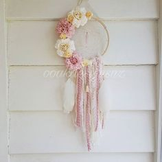 In love with this half floral from last week  . . #dreamcatcher #floraldreamcatcher #flowerdreamcatcher #pastel #decorgoals #floral #vintage #prettydecor #pink #handmadedecor #nzmade #handmade #decor #roomdecor #roominpso #girlsdecor - Architecture and Home Decor - Bedroom - Bathroom - Kitchen And Living Room Interior Design Decorating Ideas - #architecture #design #interiordesign #diy #homedesign #architect #architectural #homedecor #realestate #contemporaryart #inspiration #creative #decor #decoration
