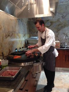 The Pirch in Dallas featured Evo Grill demo and sampling. Amazing store!