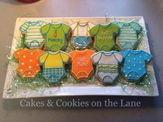 Cute Onesies by Cakes & Cookies on the Lane