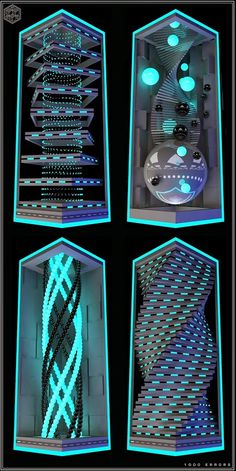 Space Images, Cyber, Neon, Map, Design, Location Map, Neon Colors, Maps