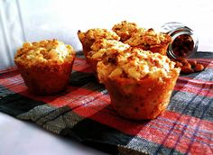 Muffins de Pêra e Amêndoas