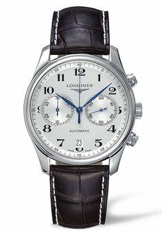 @longineswatches Master Automatic Chronograph. #longines #watchtime #chronograph
