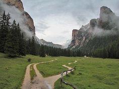 Wanderung durch das Südtiroler Langental