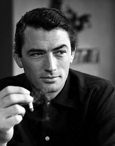 Gregory Peck photographed by Philippe Halsman, 1949.