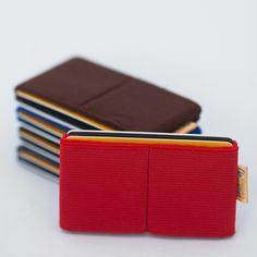 Minimalistyczny portfel z kieszeniami na monety! Elephant Wallet - ultra slim minimalist elastic wallet, rubber, wallet for men and women