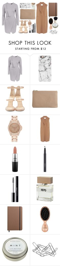 """""""Maybe life isn't for anyone."""" by andreavc ❤ liked on Polyvore featuring Topshop, Casetify, Giuseppe Zanotti, Wittner, River Island, Alexander Wang, MAC Cosmetics, shu uemura, Bella Freud and Shinola"""