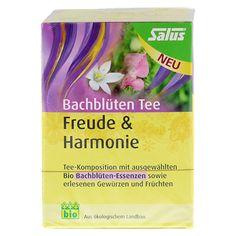 BACHBLÜTEN Tee Freude & Harmonie Bio Salus 15 Stück - Vorderseite