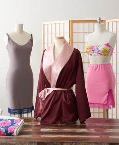Sew and Draft Your Own 10 Piece Lingerie Collection! #burdastyle #sew #sewing #diy #sewingcourse #lingerie