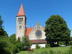 Evangelisch-lutherische Kirche in Helpup bei Oerlinghausen in Ostwestfalen-Lippe