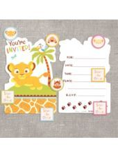 Lion King Baby Shower Invitations-Party City saving for years from now when i have babies.