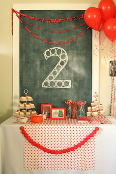 2 Year Old Birthday Party Beautiful Red Ball Party Levi's Second Birthday the Macs 2 Year Old Birthday Party, Ball Birthday Parties, Birthday Table, Birthday Party Themes, Birthday Ideas, Happy Birthday, Kid Parties, Birthday Bash, Red Party