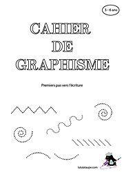 Cahier de graphisme gratuit à imprimer
