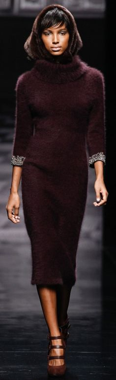 Ermanno Scervino  A/W '13 Fall autumn women fashion outfit clothing stylish apparel @roressclothes closet ideas