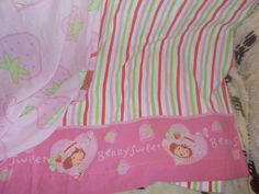 Strawberry Shortcake Sheet Set Twin Fitted by Daysgonebytreasures