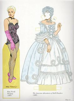 Kim Novak* 1500 free paper dolls at Arielle Gabriel's The International Paper Doll Society free paper dolls for my Pinterest friends..*