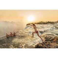 """""""Jumping into devils pool,Victoria falls, Zambia. #africa #victoriafalls #devilspool #zambia #zimbabwe #travel #adventure #crazy #worldbestshot #wonderful_places #awesome #ig_shotz #canon_photos #bleachmyfilm #capture_today #travelawesome #thewordshotz #epic_captures #earthpics"""" Photo taken by @michaelbaynesphotography on Instagram, pinned via the InstaPin iOS App! http://www.instapinapp.com (02/11/2015)"""