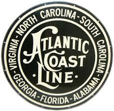 Atlantic Coast Line Railroad  1900–1967 ------ Merged with Seaboard Air Line R.R. to form the Seaboard Coast Line in 1967.