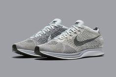 Nike Flyknit Racer Pure Platinium