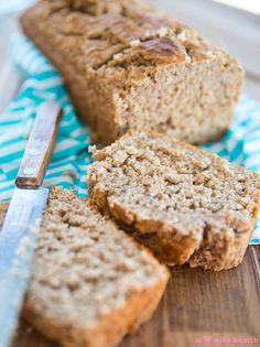 Bananen Kwark Brood - In Love With Health