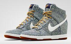 new product 81cf6 1fa8d Nike dunk sky hi x Liberty London