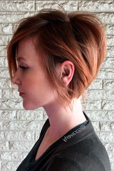 Stacked Bob Haircut Ideas to Try Right Now ★ See more: http://lovehairstyles.com/stacked-bob-haircut-ideas/ #PixieHaircut