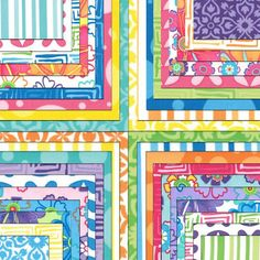 Ticklish Charm Pack by Me and My Sister for Moda Fabrics Quilt Fabric Squares Kit New. $8.99, via Etsy.