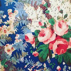 "- Surface Pattern Print (@surfacepatternprint) on Instagram: ""Beautiful Vintage Pattern!! @theworldofinteriors ・・・"