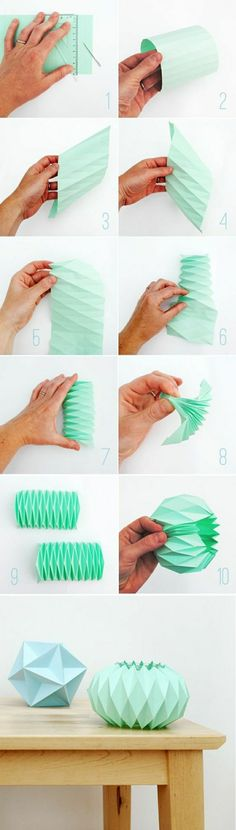 modele origami facile, diy idée pliage origami en papier