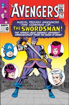 Avengers #019 (1965) (Digital) The First Appearance Of SwordsMan! The Hawkeye Teacher!!!