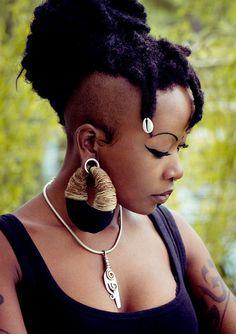 Sombra - Manakees cáñamo orgánico para oídos estiradas - Eco ética pendientes