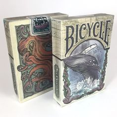 Buy Colorized Sea Creature Themed Bicycle Playing Card Deck, Limited Edition - Topvintagestyle.com ✓ FREE DELIVERY possible on eligible purchases