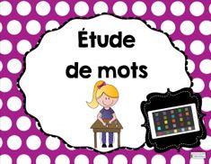 Étude de mots TIC http://seduc.csdecou.qc.ca/5-au-quotidien/ateliers-tic-etude-de-mots/