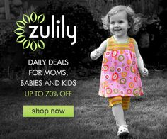 Join Zulily for Awesome Daily Deals